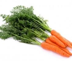 Zuppa di carote al coriandolo